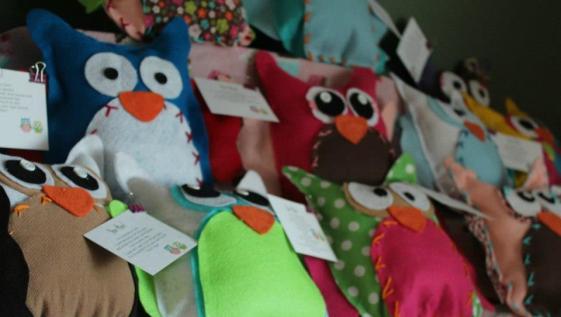 Sew Free DIY Night Owl Pillows
