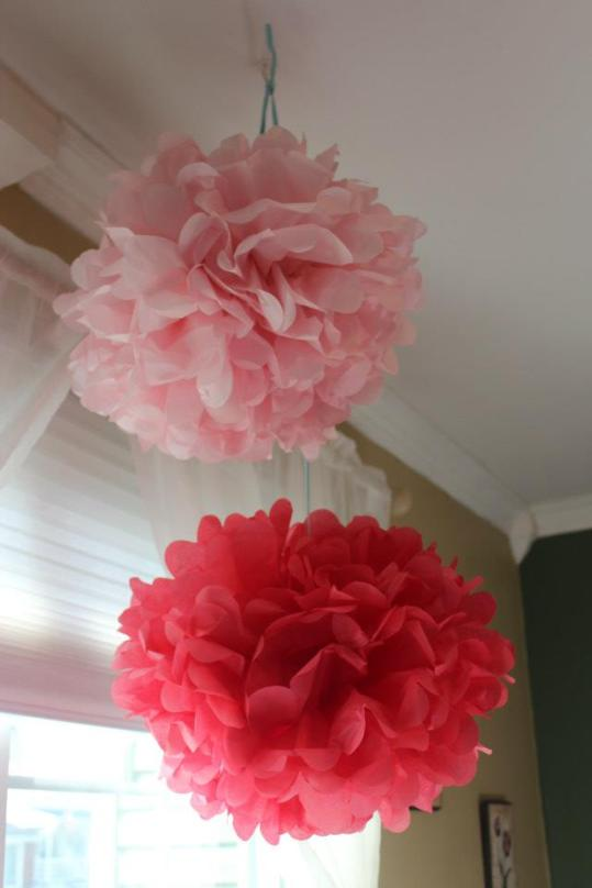 How to make tissue paper pons