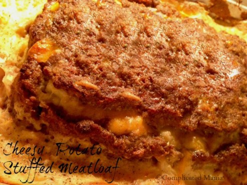 RECIPE for Cheese Potato Stuffed Meatloaf