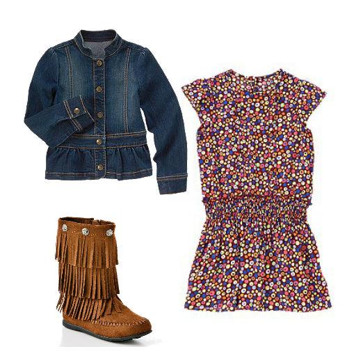 Back To school girls trends 2013 fringe boots boho kohls crazy 8