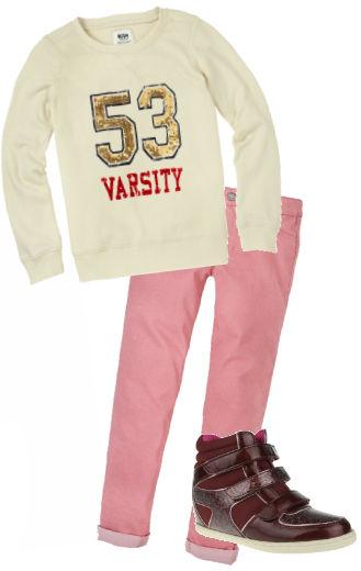 Ruum Kids Back To school sale coupons- hightop wedge sneakers-girls
