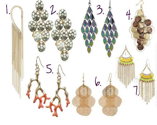 Statement Earrings- Fall Trend 2013