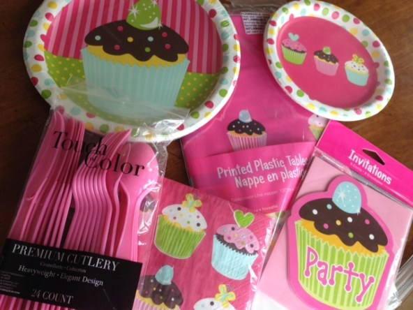 Princess Cupcake party In A Box