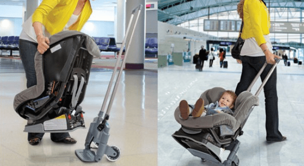 carseat travel cart