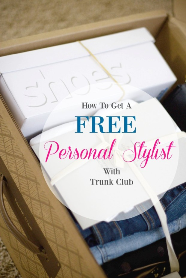 Free Personal Stylist With Trunk Club