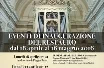 EVENTI INAUGURAZIONE ORGANO CHIESA DI POGGIO RUSCO