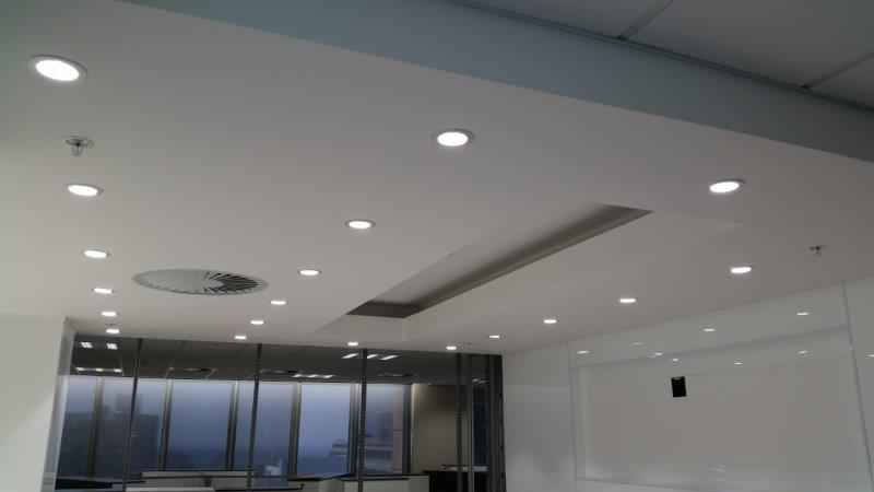 Component projects bulkhead, ceiling and partition
