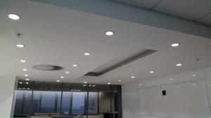 Coffee Station at Anglo America -bulkhead, ceiling and partition specialist