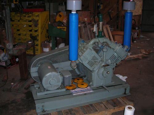Quincy Air Compressor 25 Hp 89 Cfm 200 Psi