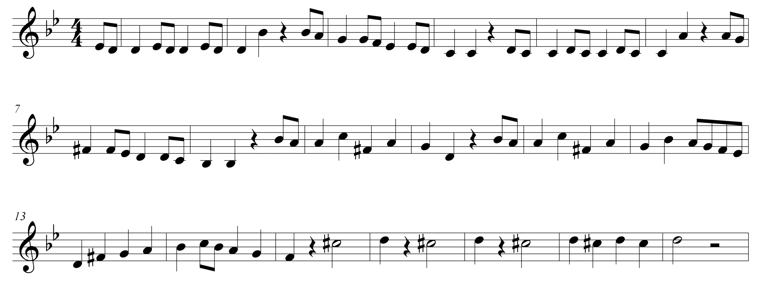 Write A Good Melody Motives Composition Corner