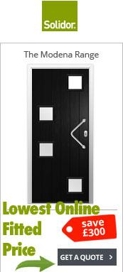 Solidor Modena TImber Composite Door Range