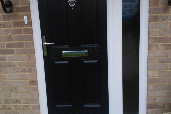 Black-4-Panel-2-Square-Global-Composite-Door2 2