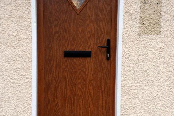 oak diamond Composite Door