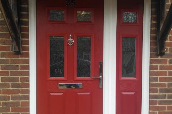 red-2-panel-4-square-global-composite-door 2