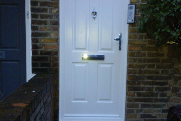 white 4 panel composite door 2