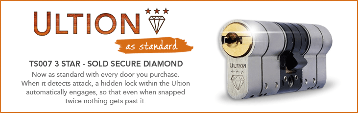 Ultion TS007 3 Star Sold Secure Diamond Rated Locks