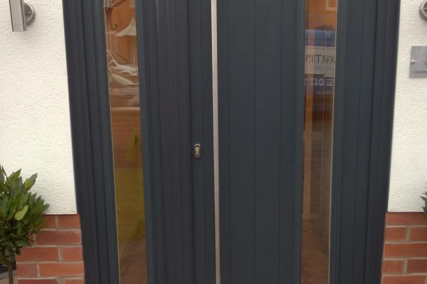 Anthracite Grey Brescia wiith matching Side Panel