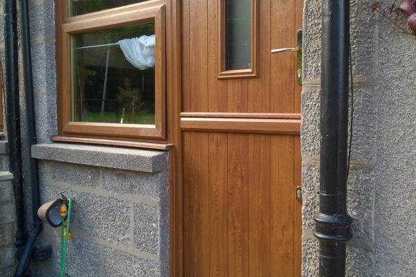 Golden Oak Flint 2 Stable Door