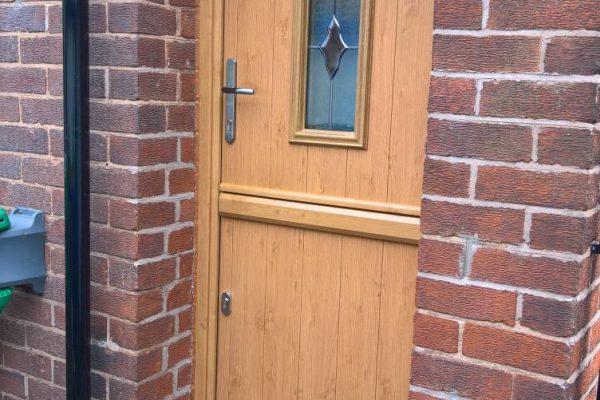 Irish Oak Flint 2 Stable Door
