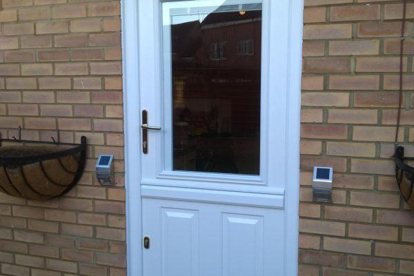 White Beeston 1 Stable door