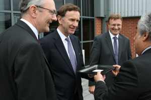 Photo of Minister of State for Trade and Investment, Visits Umeco Composites Structural Materials