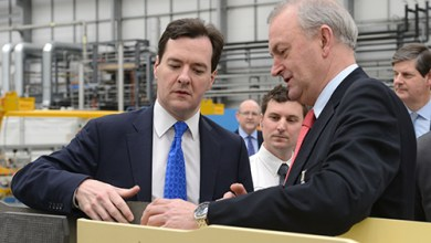Photo of George Osborne opens state-of-the-art UK Wing Structures Factory
