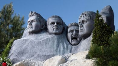 Photo of England Gets Its Own Mount Rushmore made from Fibreglass