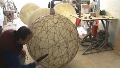 Photo of Fibreglass String Lantern Orbs