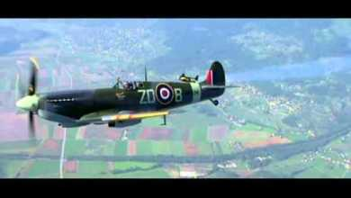 Photo of Jetman Flies Wing to Wing With Spitfire