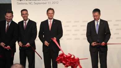 Photo of Lanxess Opens First High Tech Plastics Plant in the USA