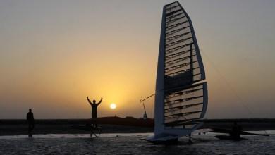 Photo of Carbon Fibre Boat sets New Sailing Record