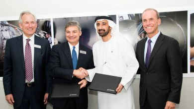 Photo of Boeing & Mubadala Sign New Composites Manufacturing Agreement