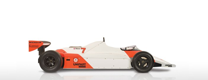 Side view of the MP4/1