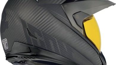 Photo of Variant Ghost Carbon Fibre Motorbike Helmet