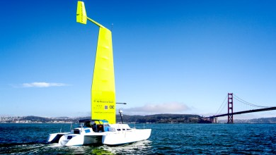 Photo of New Composite Sail Could One Day Be Used to Power Ferries