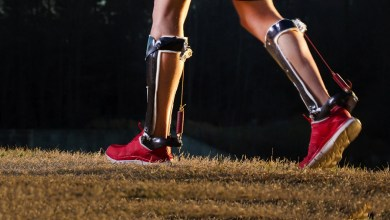 Photo of New Carbon Fibre Exoskeleton Improves the Way We Walk