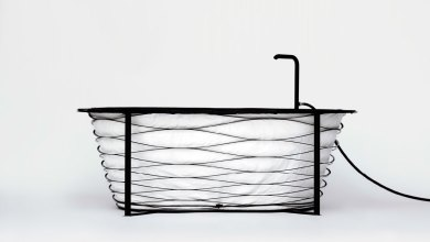 Photo of Get Washed on the Go in This Portable Carbon Fibre Bathtub