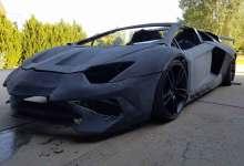 Photo of Father and son team create 3D printed Lamborghini Aventador look-a-like