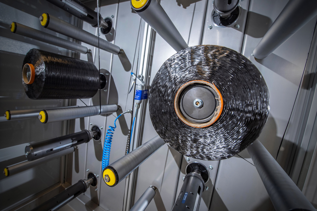 The company has worked for several years to investigate and perfect the carbon fibre materials used in rocket construction
