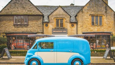Photo of Morris is making a comeback with this carbon fibre electric van