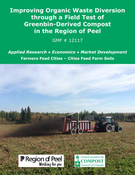 Ontario Agricultural Trials using Greenbin-derived Compost