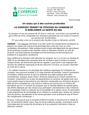 French Press Release