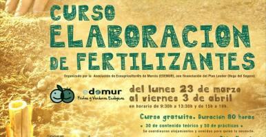 Curso de elaboración de fertilizantes orgánicos reciclados