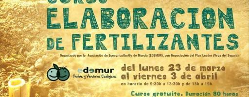 Curso elaboración fertilizantes