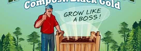 Infografía sobre como hacer compost