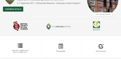 Simposio internacional sobre la materia orgánica en el suelo (SOM2017)
