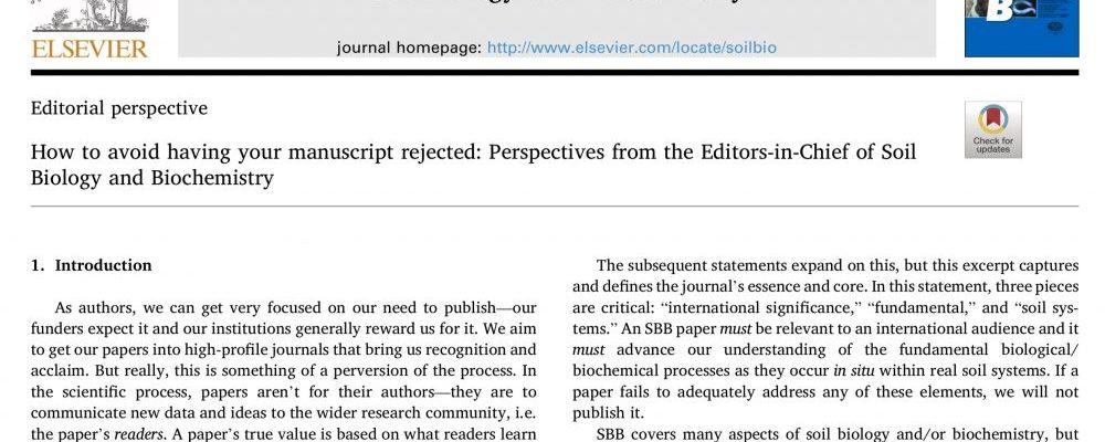 ¿Para quién escriben los científicos?
