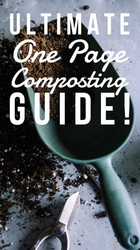 pin pinterest ultimate guide to make compost