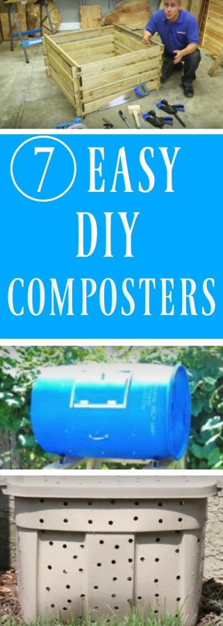 diy composter instructions for building them
