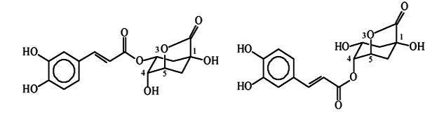 chlorogenic acid lactones